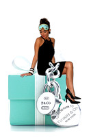 audrey on tiffany's box with mask copy